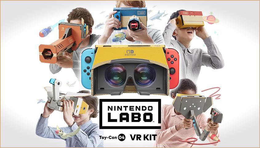 Nintendo's newest Labo Kit adds VR to the versatile Switch console