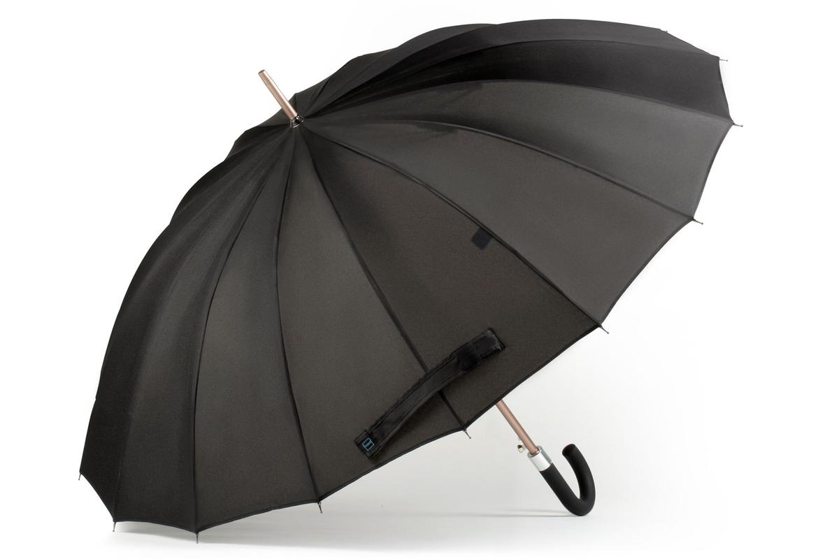 Kisha is a smart umbrella that uses an app to predict the weather