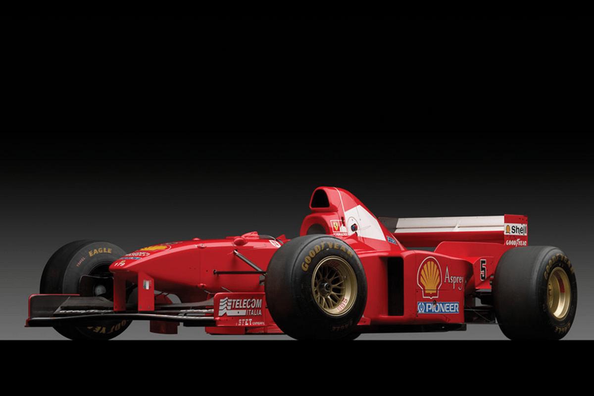 The F310 B is Ferrari Classiche certified