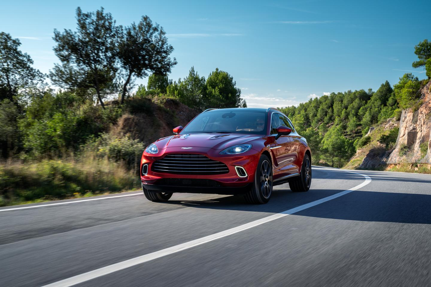 The Aston Martin DBX will be built in the company's new manufacturing facility in Wales