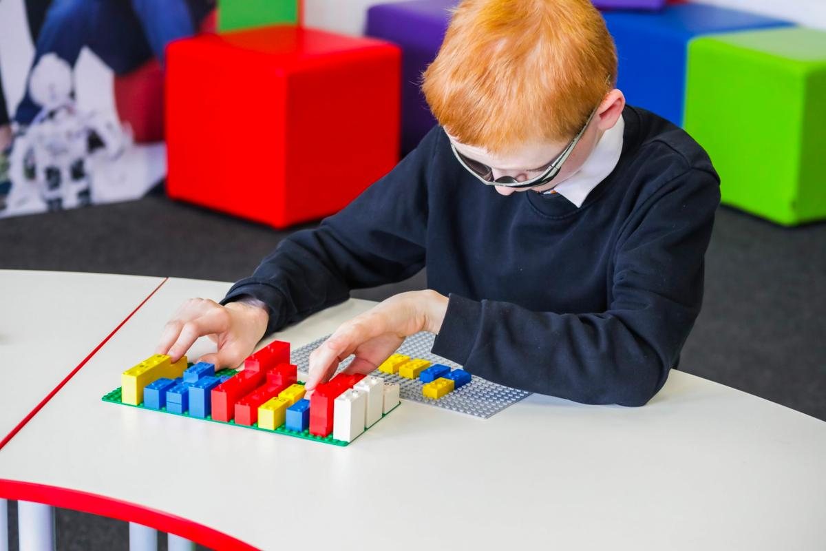 The Lego Braille Bricks project was launched today at theSustainable Brands Conference in Paris, France