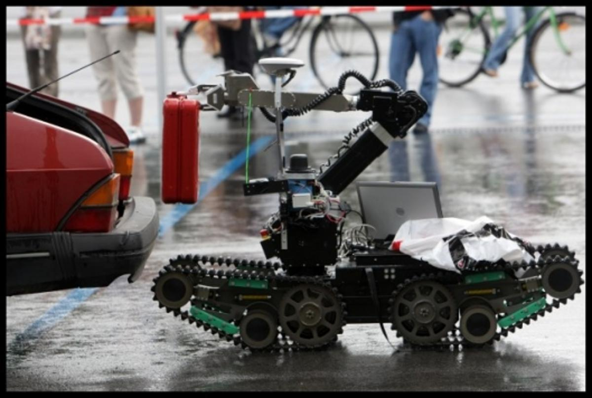 "Rescue Robot ""Telemax"" at Robocup 2009"