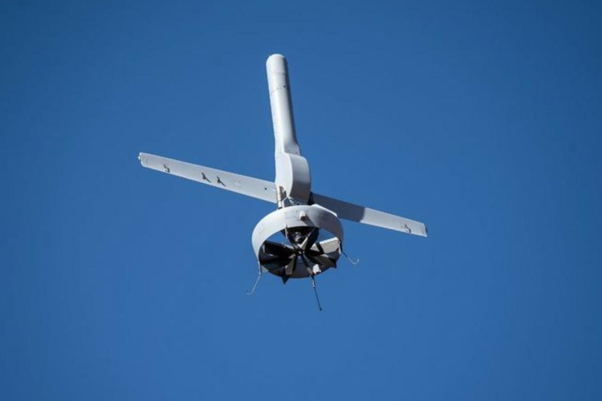 The enhanced V-BAT is based on Martin UAV's line of V-BAT drones