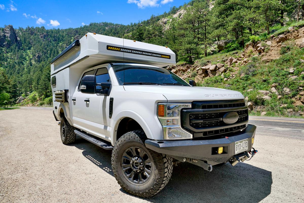 The Baja features a go-anywhere four-season design built to explore and adventure
