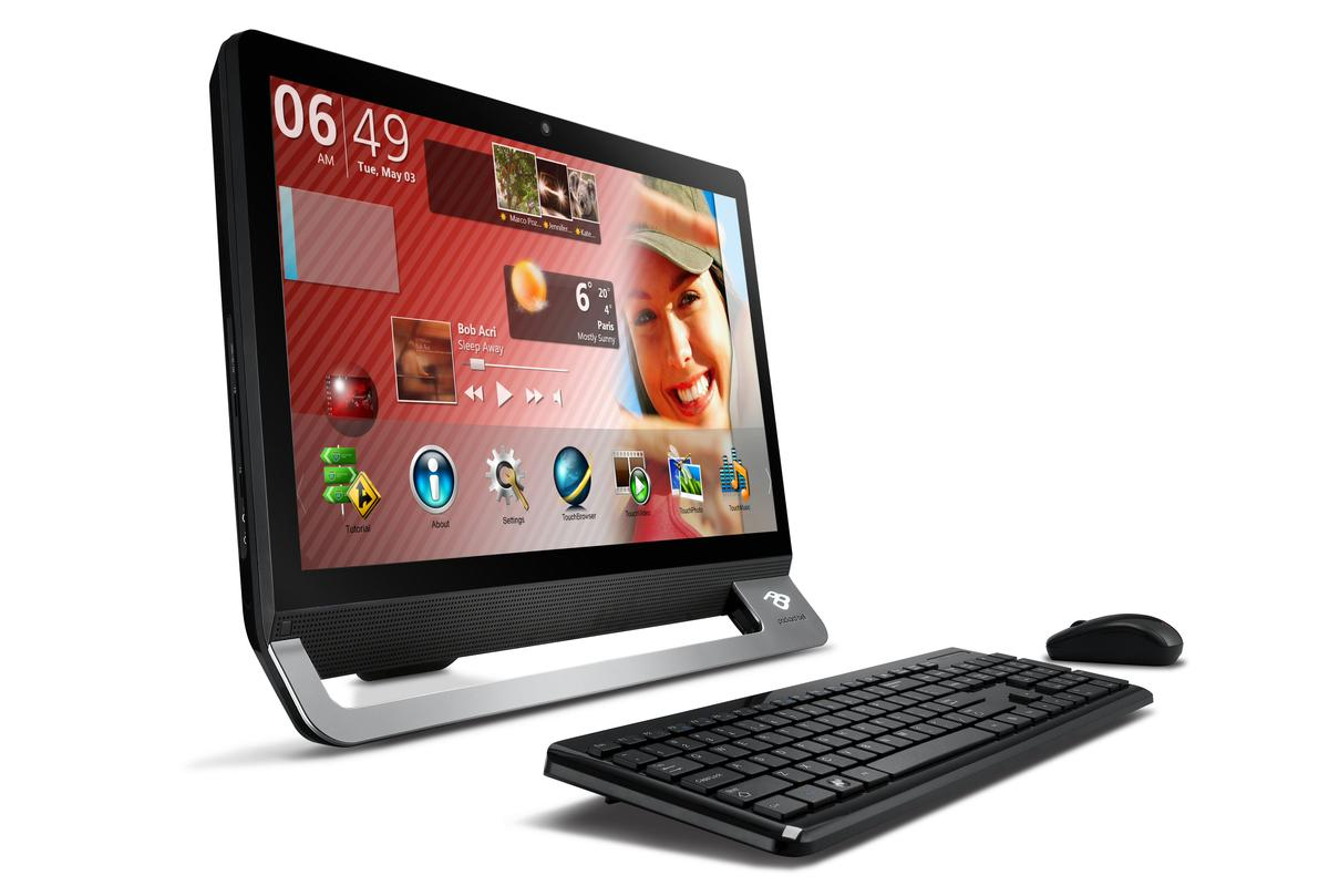 Packard Bell has revamped two of its PB oneTwo all-in-one desktop PCs - now 65 percent slimmer than previous models.
