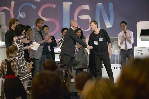 Rickard Hederstierna takes out the 2009 Electrolux Design Lab competition.
