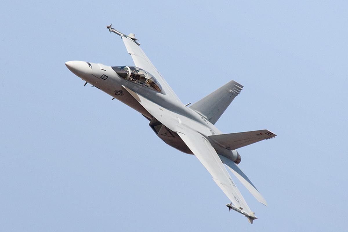 The first improved F/A-18 Super Hornet (not pictured) has been delivered to the US Navy
