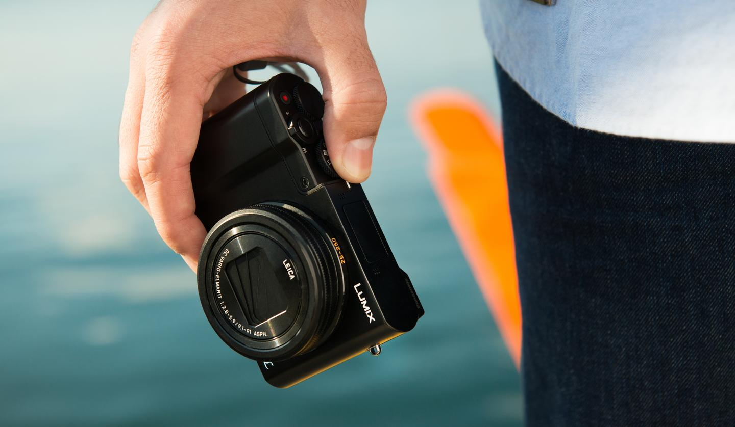 The Panasonic Lumix ZS100 (TZ100) is a travel camera with a 1-inch sensor