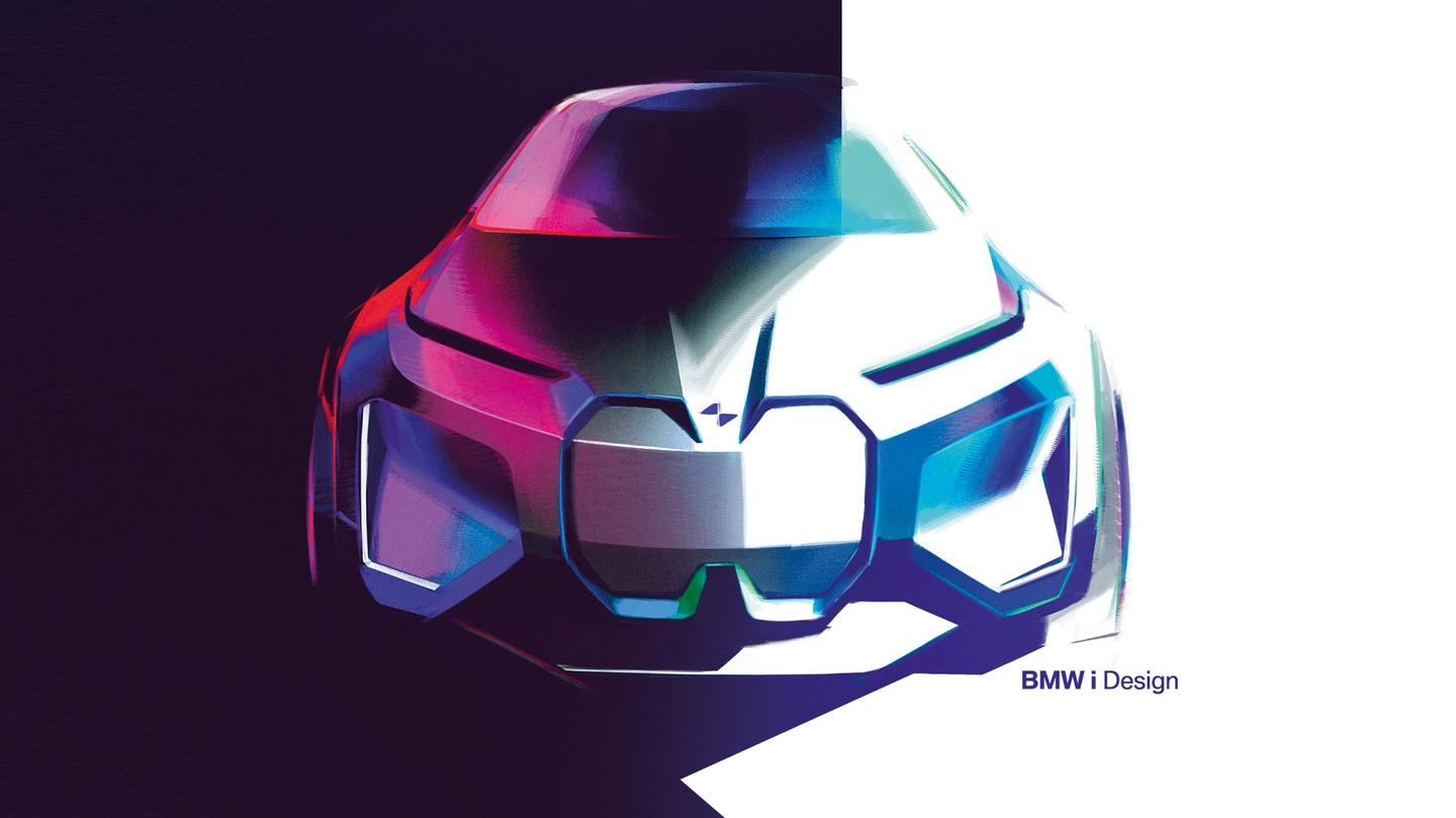 BMW Vision iNext sketch
