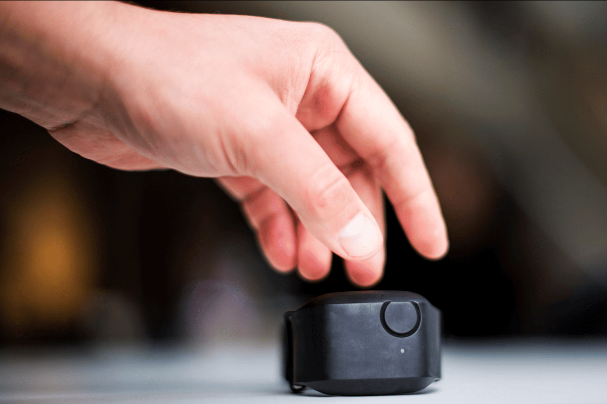 The small, wearable device kitted out with sensors for monitoring markers of stress such as heart rate, sweat production, skin surface temperature and arm movements that could predict aggressive outbursts of autism sufferers ahead of time
