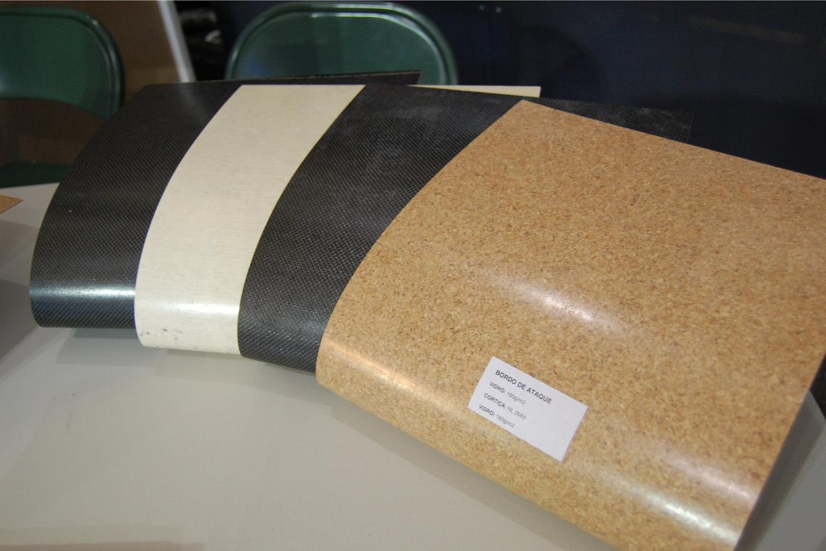 The AEROCORK cork composite material (Photo: Paul Ridden)
