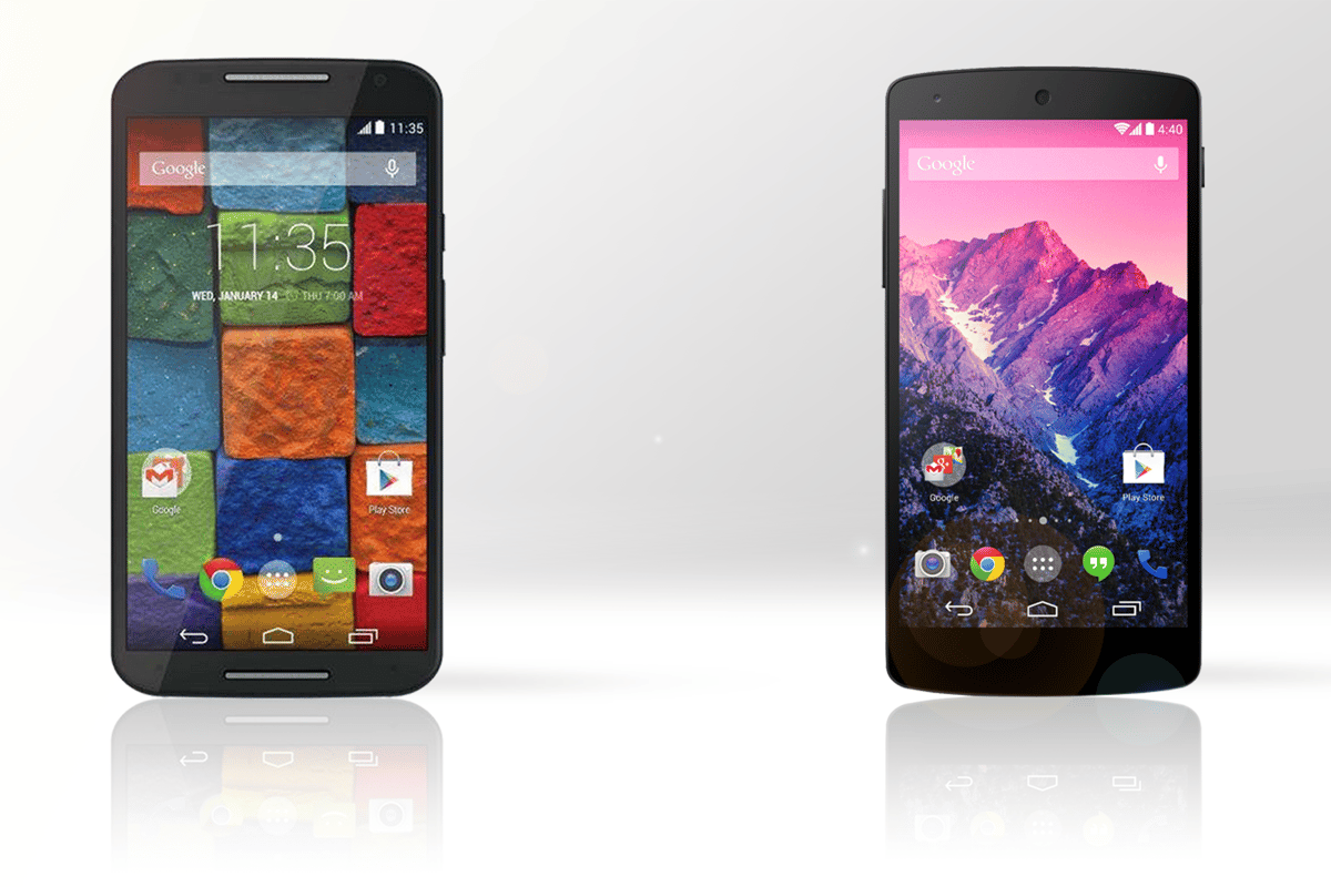 Both handsets offer great specs at competitive price points
