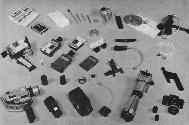 Photographic equipment carried on Apollo 15 (Image: NASA)