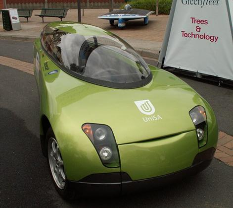 Trev the Two-seater Renewable Energy Vehicle