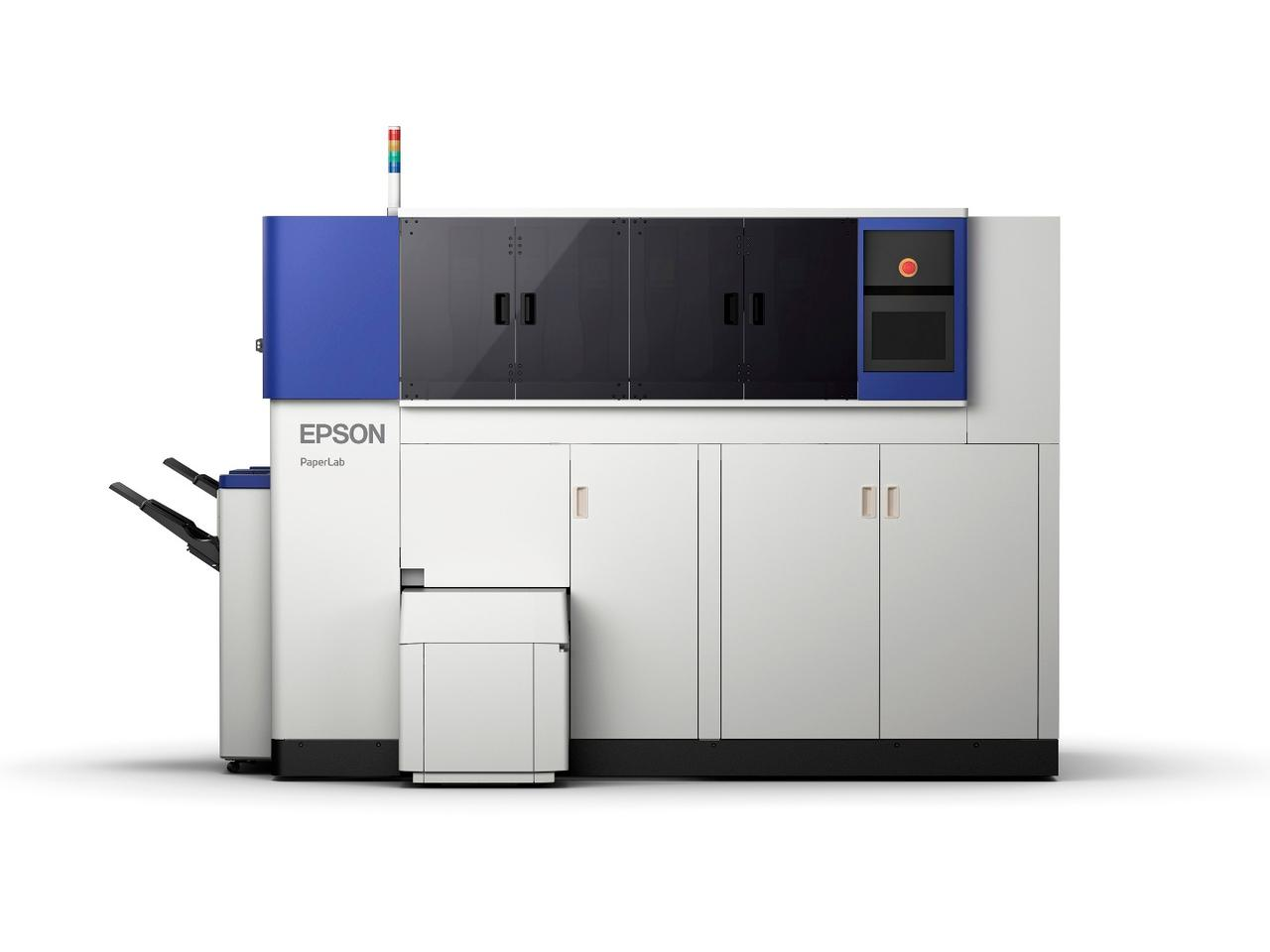 Epson's PaperLab probably won't slot in discreetly beside the office watercooler