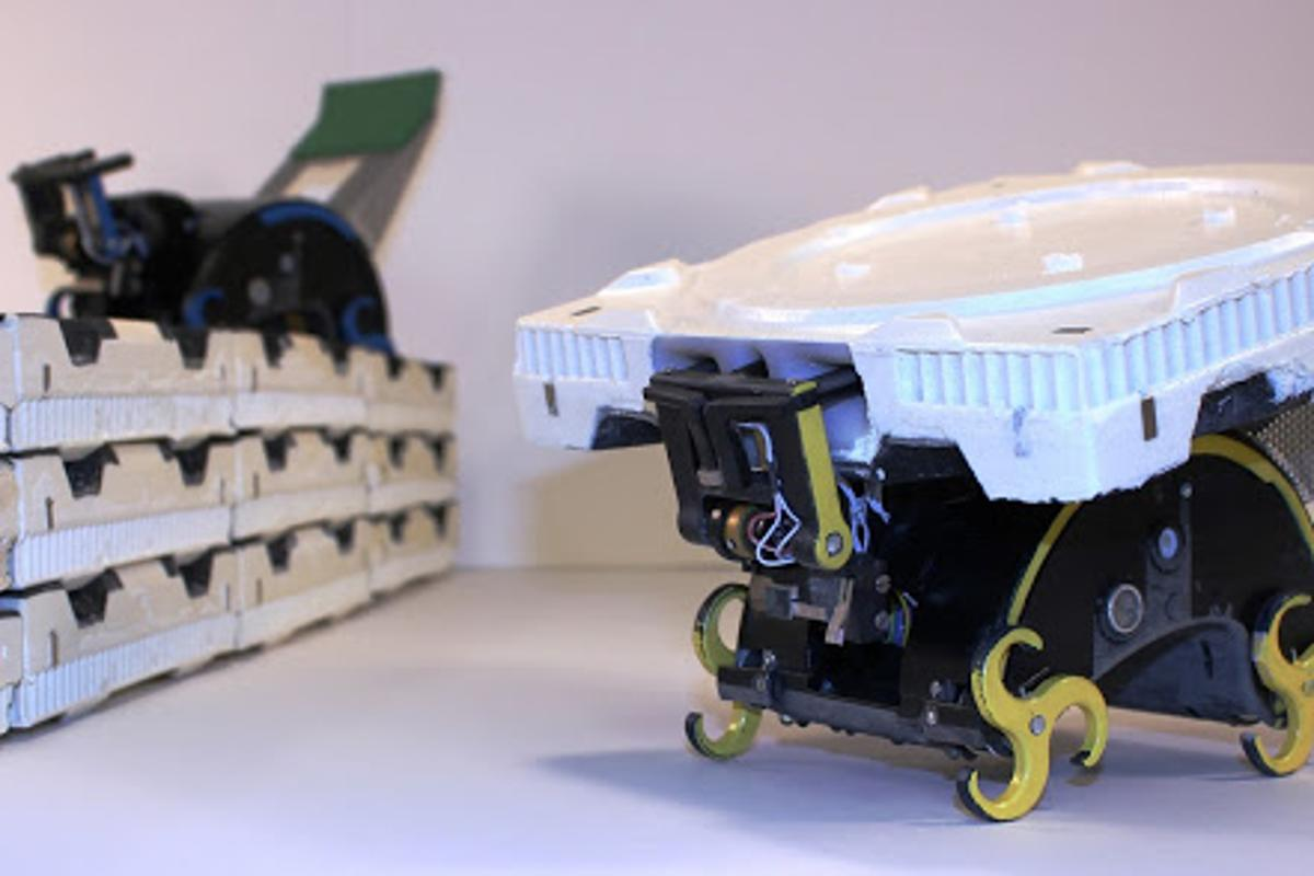 TERMES robots are seen as the first step towards an autonomous multi-robot system that can build structures