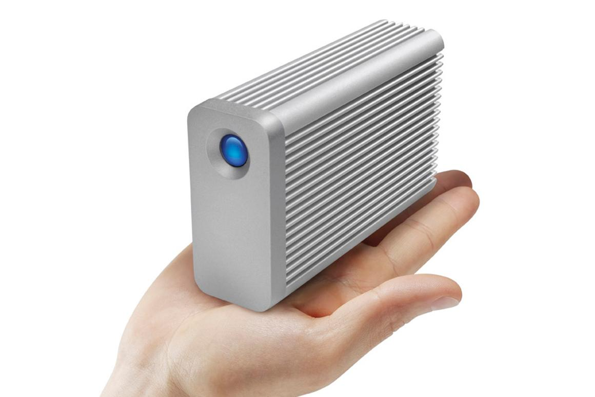 LaCie Little Big Disk Thunderbolt Series has hit shelves