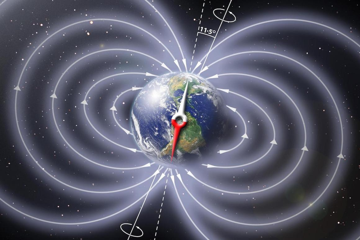 Researchers have looked to the past to determine whether the weakening magnetic field is indicative of an imminent pole reversal