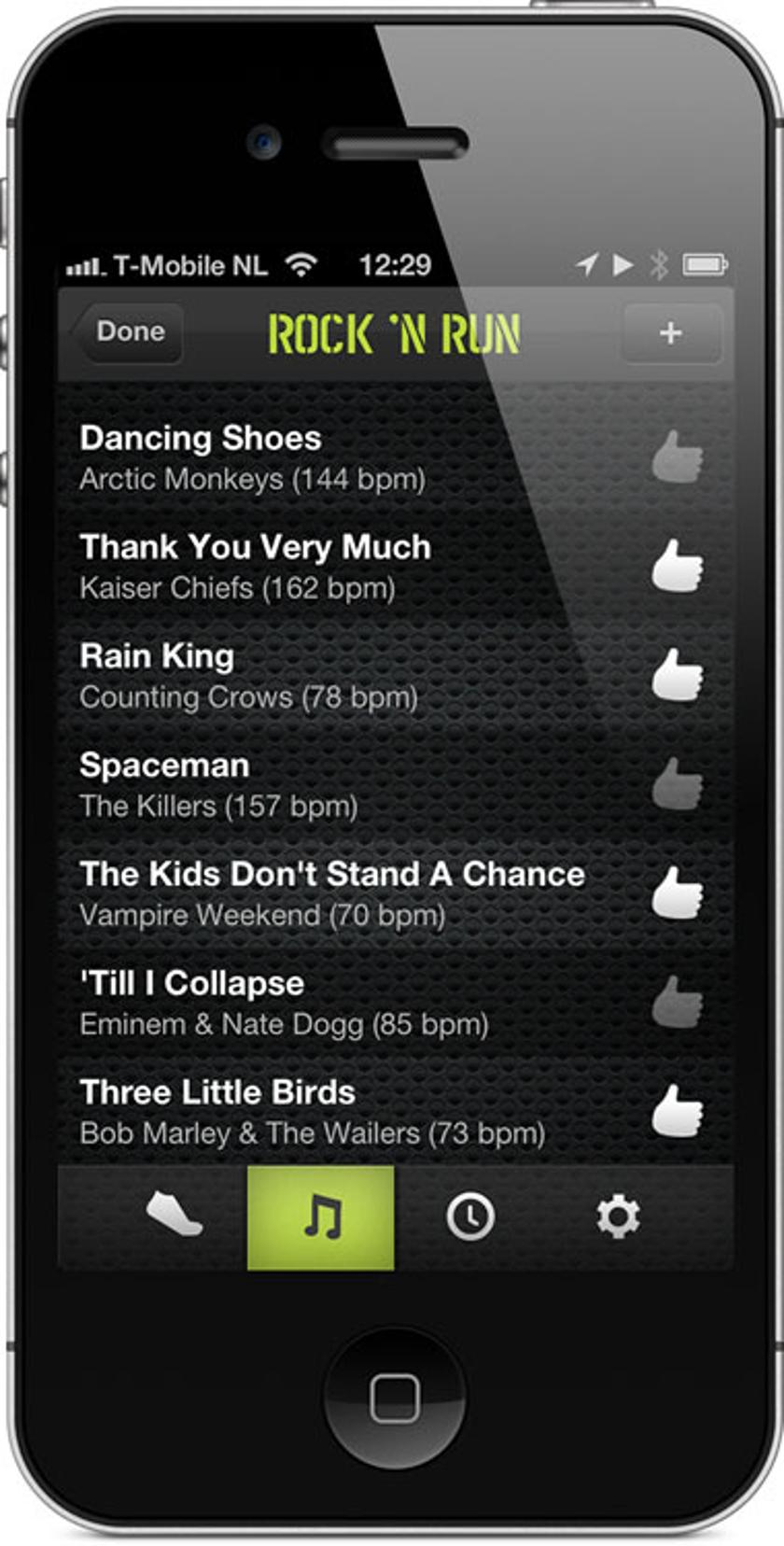 Cruise Control app changes songs' tempo to match runners