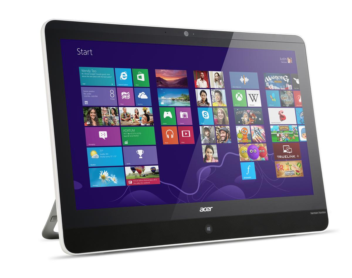 The Acer Aspire Z3-600 portable All-in-One PC