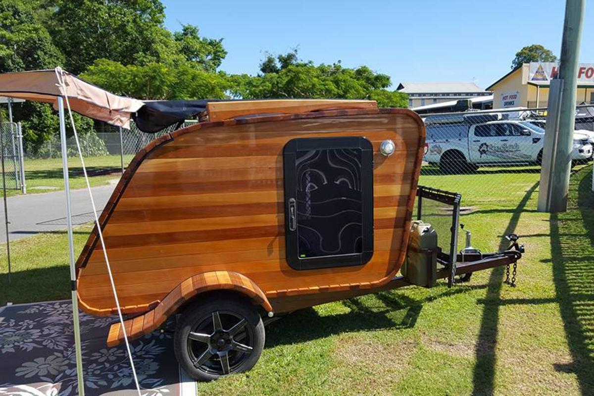 Wood on Wheels presents the Cedar Teardrop Camper