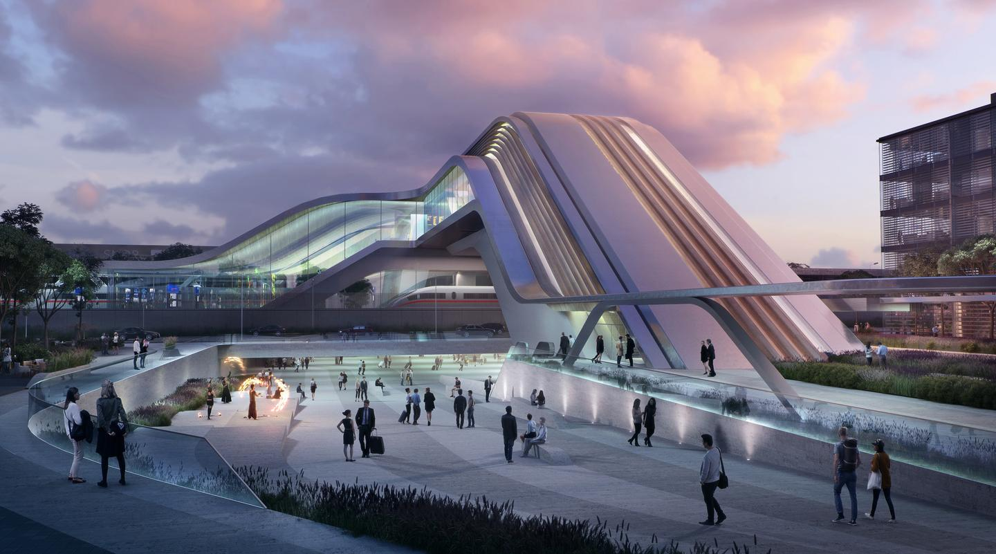 The Ülemiste terminal was designed by current ZHA boss (and longtime Zaha Hadid collaborator) Patrik Schumacher