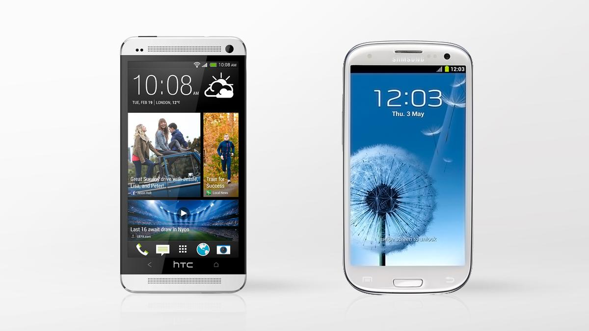 We compare the specs - and other features - of the Samsung Galaxy S III and HTC One