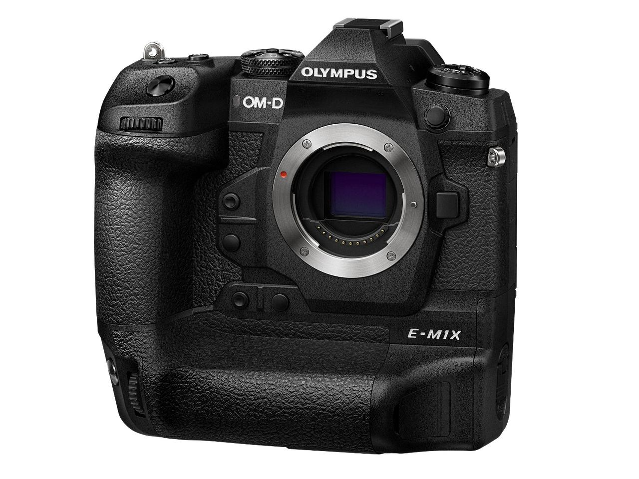 The OM-D E-M1X is built around a 20.4 megapixel Micro Four Thirds (17.4 x 13 mm) Live MOS image sensor