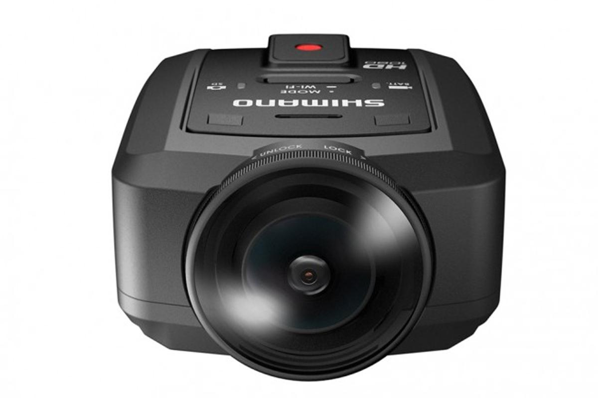 Shimano's new CM-1000 HD-capable Sport Cam