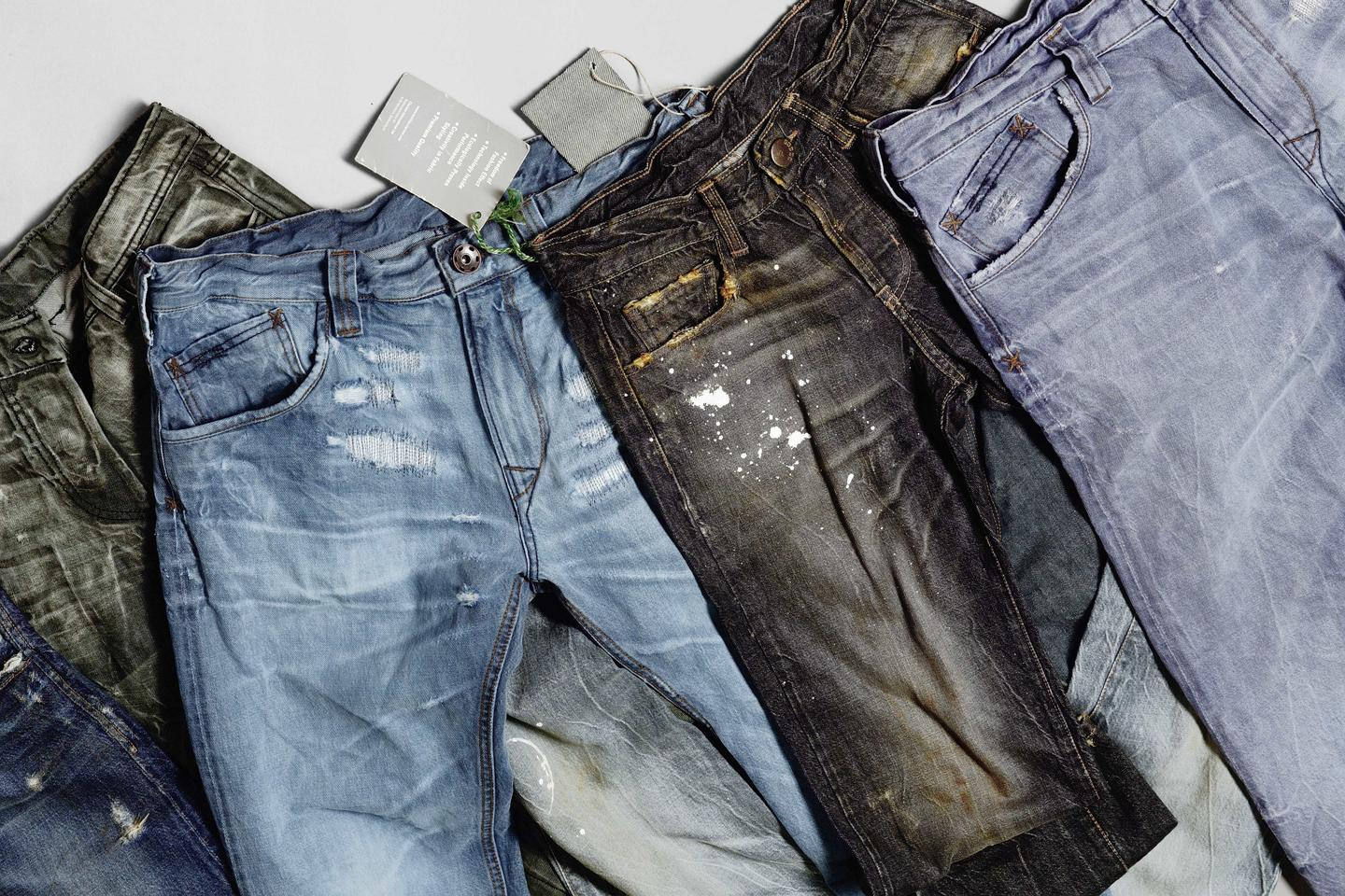 Clariant's Advanced Denim manufacturing process cuts the amount of water, energy and chemicals needed to produce a pair of jeans (Photo: Clariant)