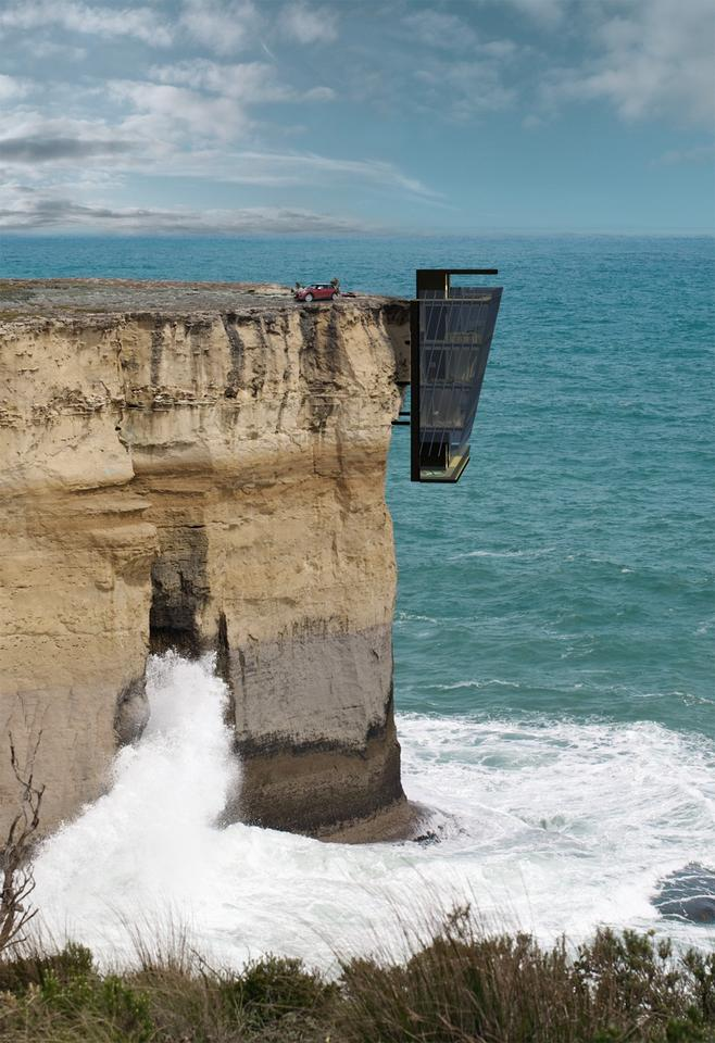 The Cliff House, by Australian firm Modscape (Image: Modscape)