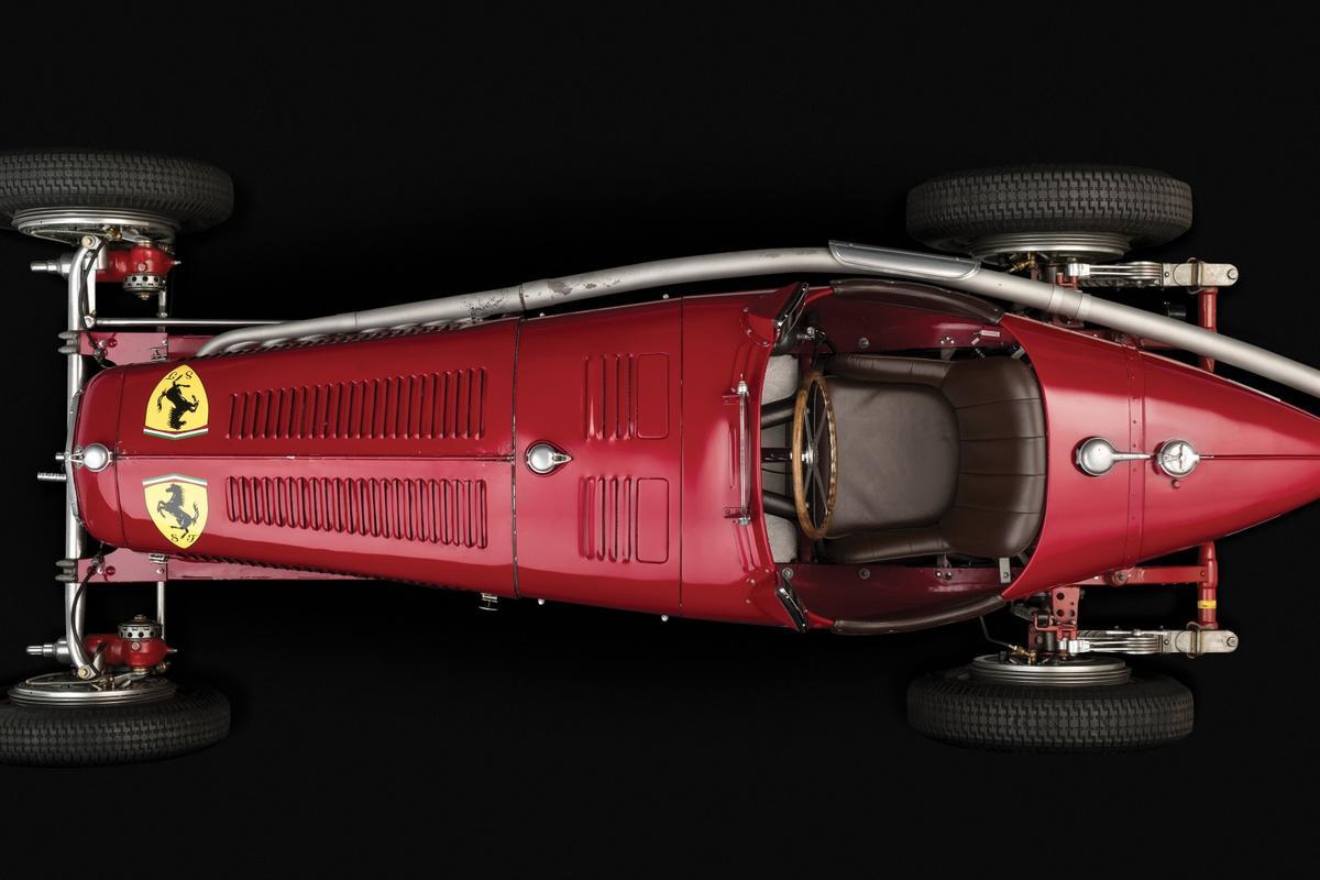 Nuvolari's Scuderia Ferrari Alfa Romeo Tipo B P3 |Estimate: €3.8 to €5.0 million (US$4.1 to $5.4 million) |Auction Link