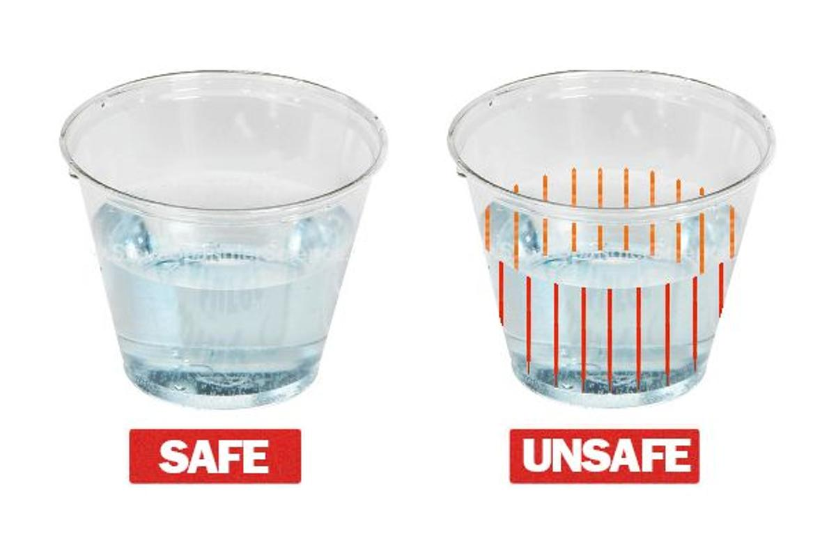 DrinkSavvy cups, glasses and straws are designed to alert their users if date rape drugs have been added to their drinks