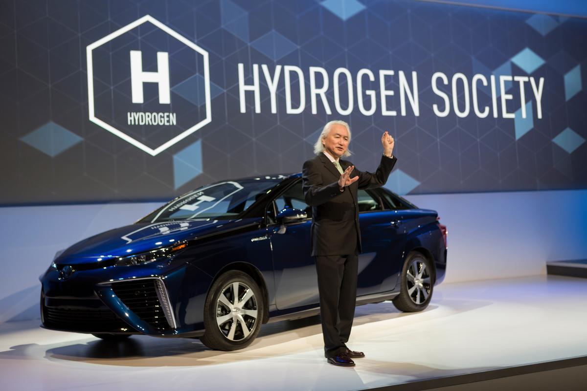 Dr. Michio Kaku speaks at Toyota's CES 2015 press conference