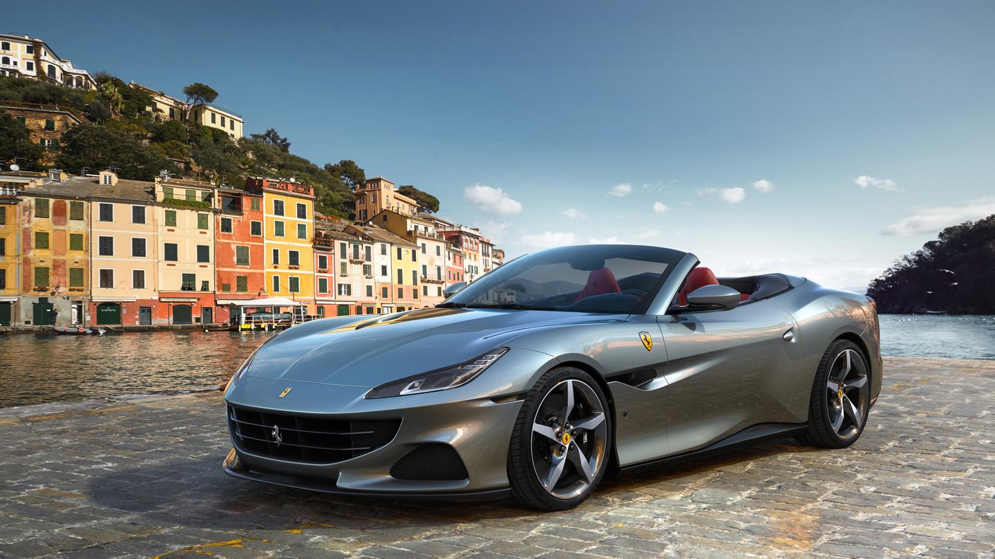 "Ferrari's new Portofino M – the M stands for ""Modificata,"" which is Ferrari-speak for ""juiced up"""
