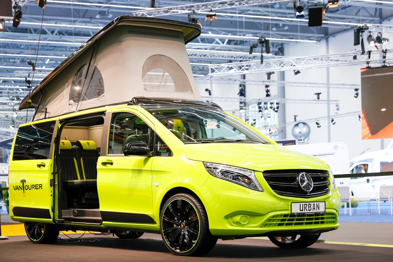 VanTourer brings a little flash to the 2021 Düsseldorf Caravan Salon