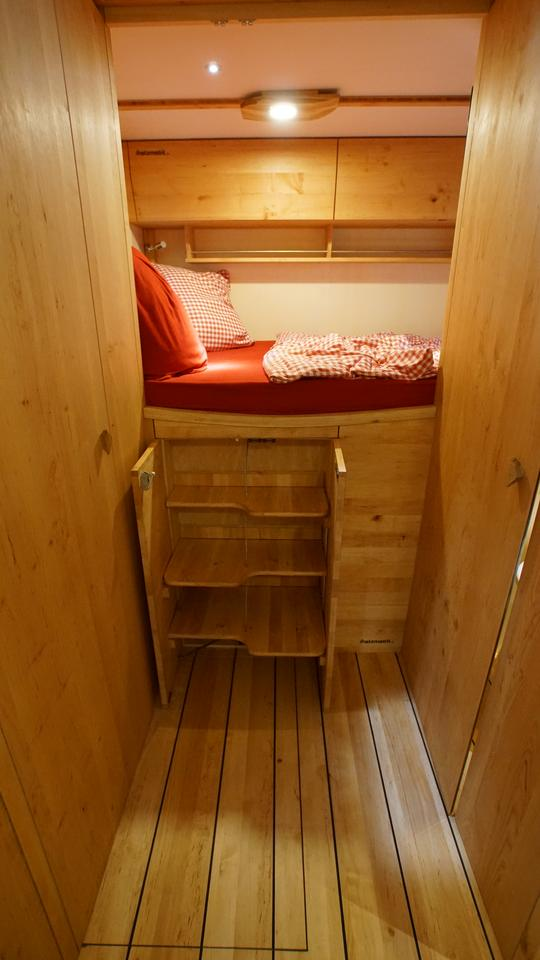 Holzmobil under-bed wardrobe