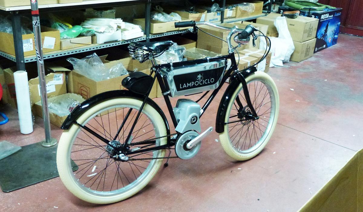 Modern e-bike engineering meets classic styling