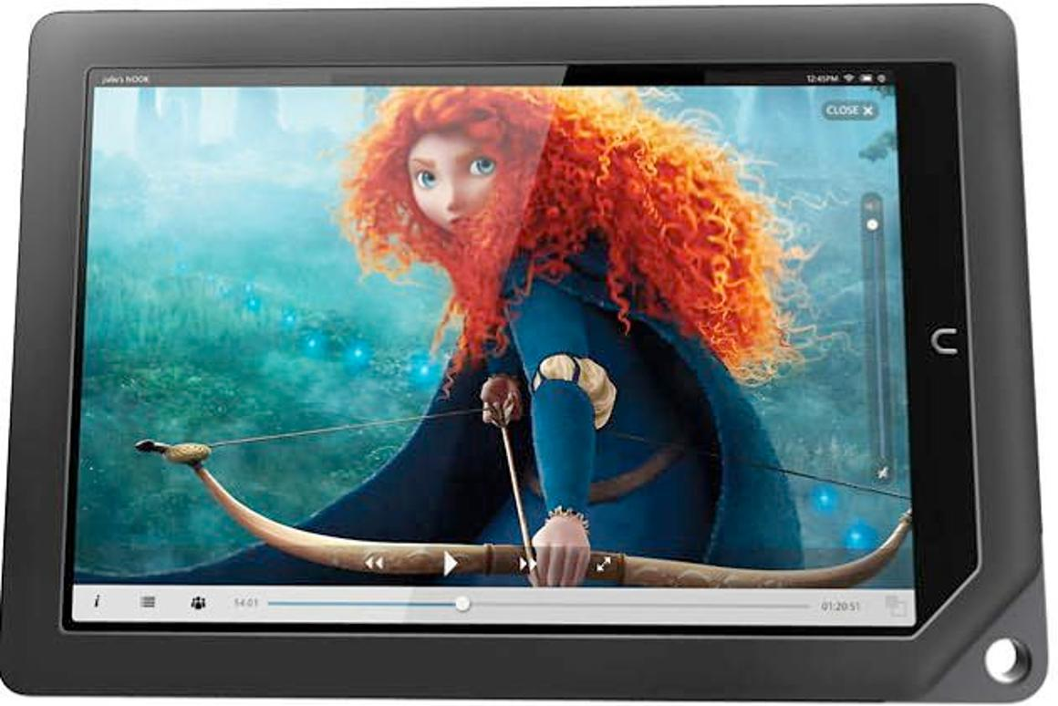 Barnes & Noble has hopped on the HD bandwagon with the launch of the NOOK HD and HD+ (pictured)