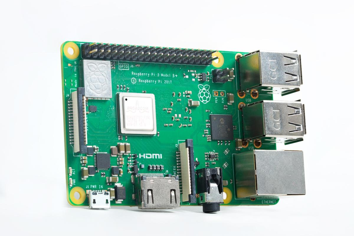 The Raspberry Pi 3 Model B+ is available now for $35