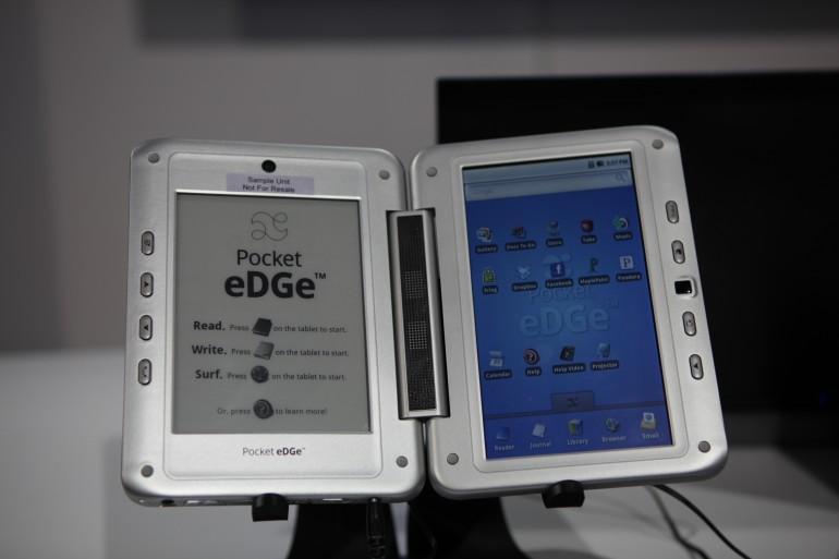 enTourage Pocket eDGe dual book