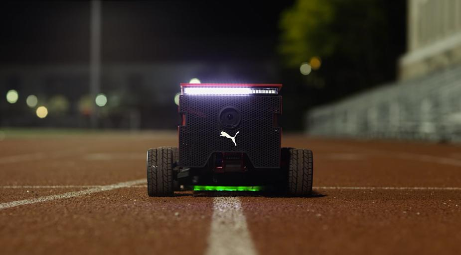 The Puma BeatBot, ready to roll