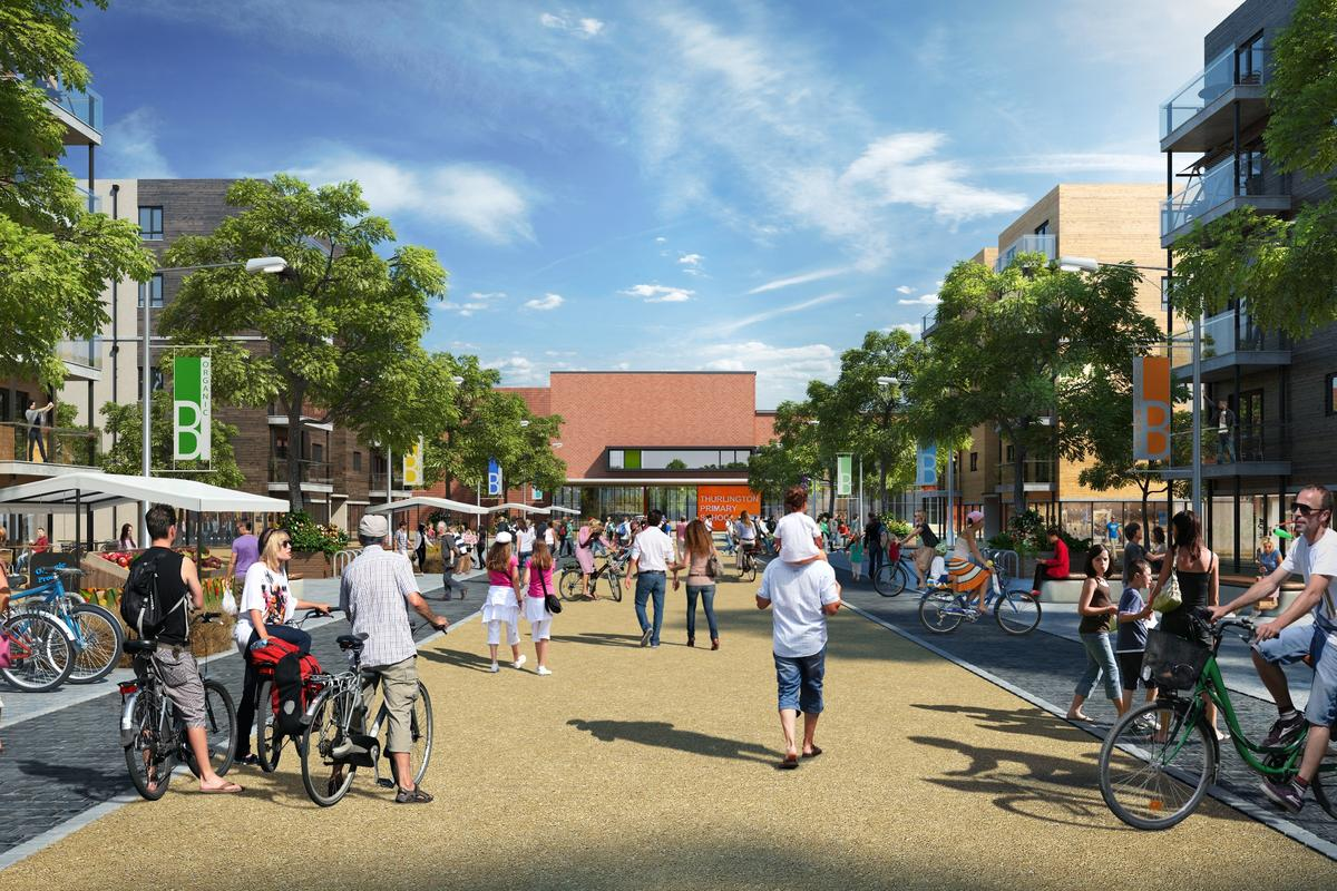 North West Bicester is a government-designated eco-town being built in the UK