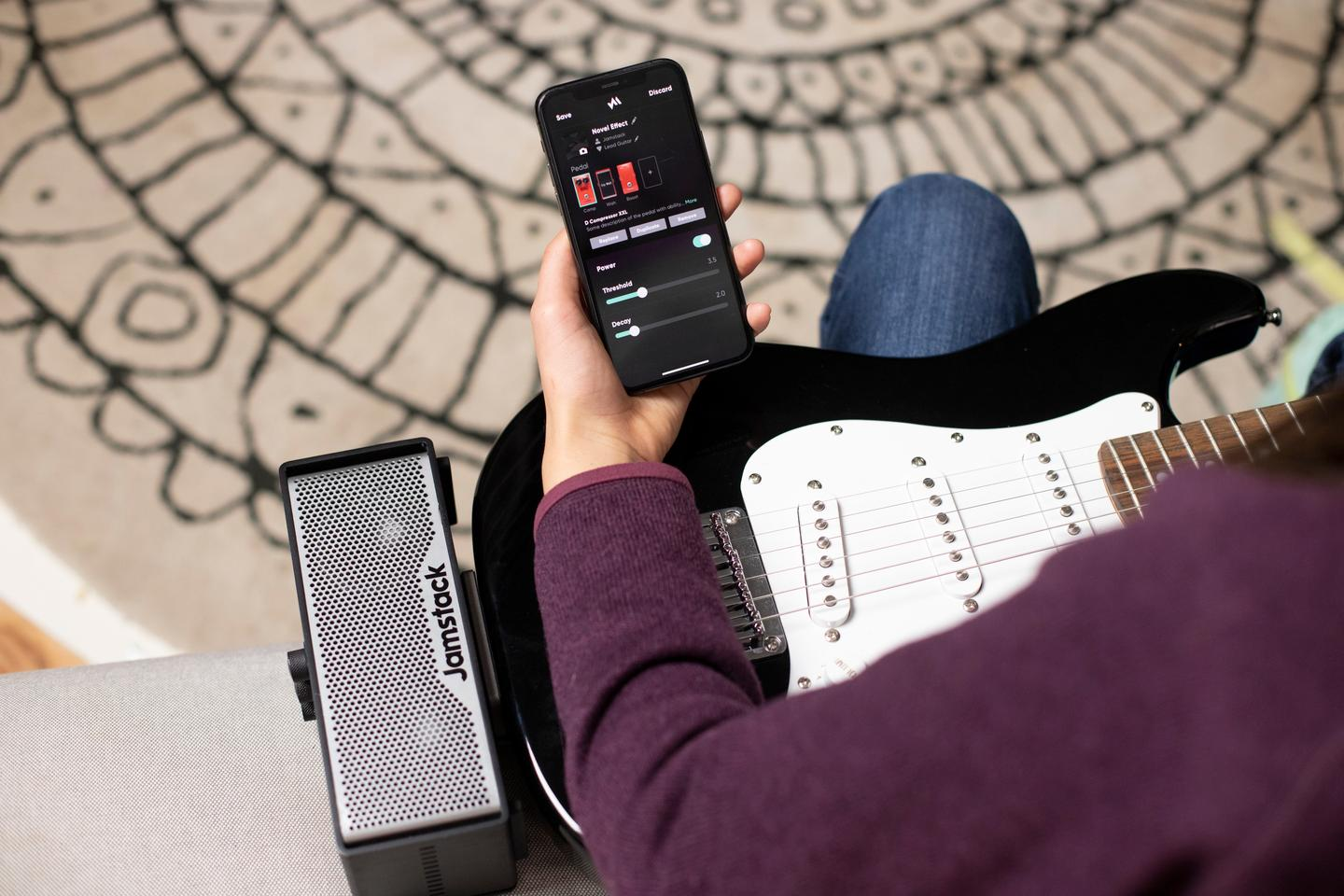 The Jamstack 2 will work on its own, but more features and functionality can be added using the companion mobile app