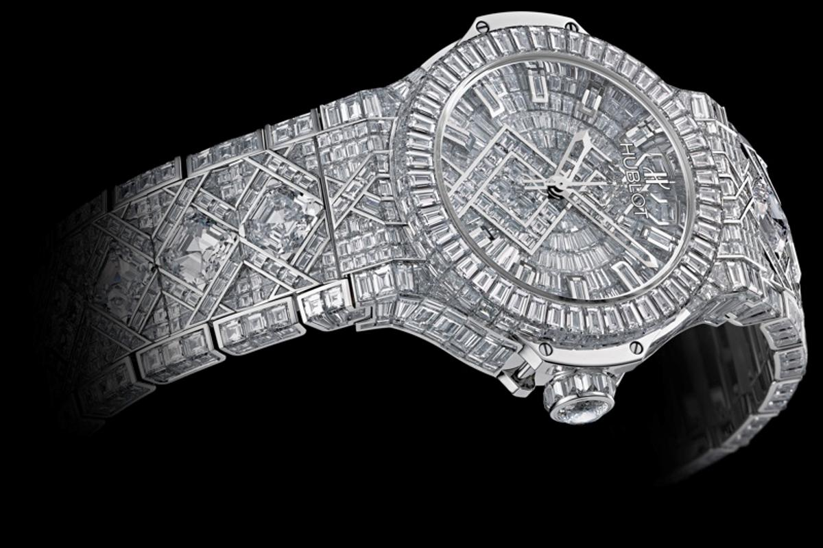 Hublot's US$5 million Big Bang diamond-encrusted watch