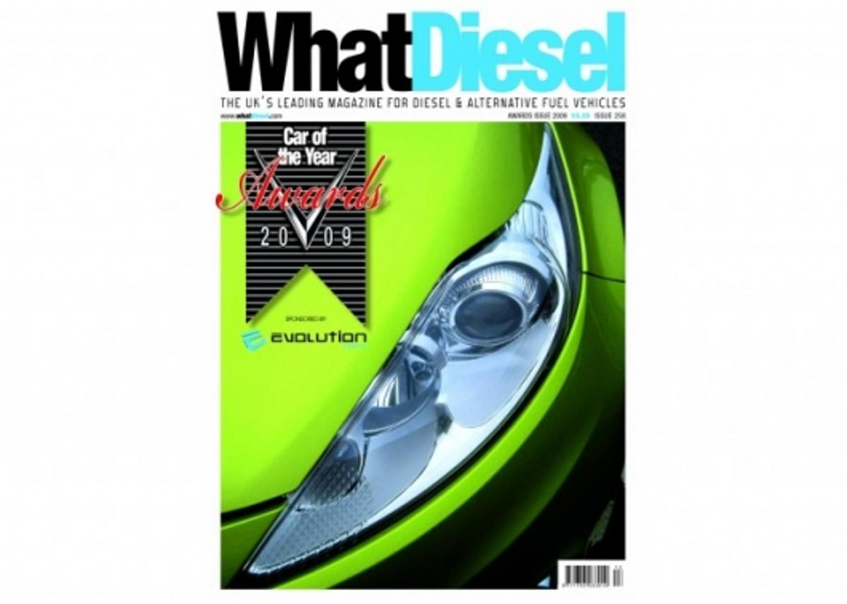 Cover of the printed copy of the awards edition of What Diesel.