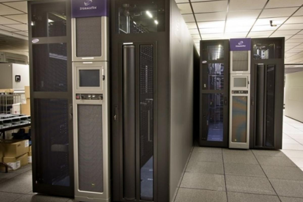 NCAR's AMSTAR digital storage library.