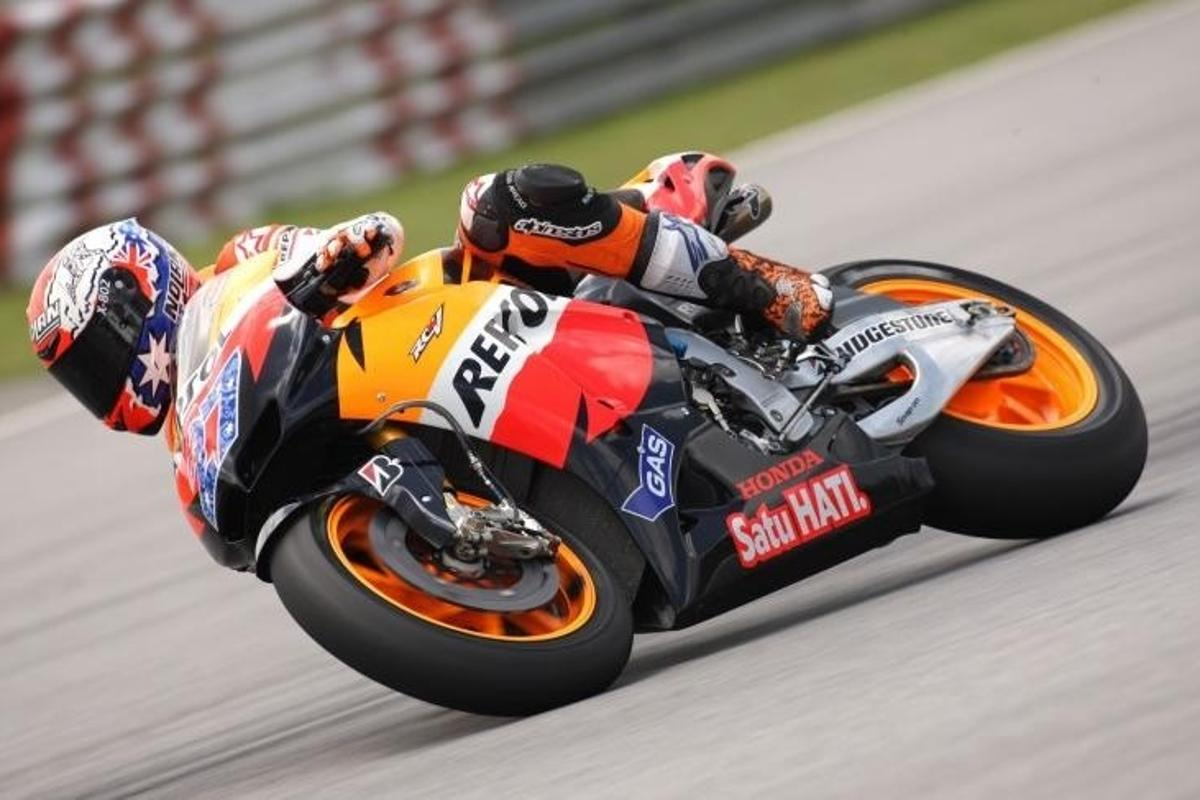 Honda's RC212V took four of the top five finishing spots in the opening round of MotoGP 2011