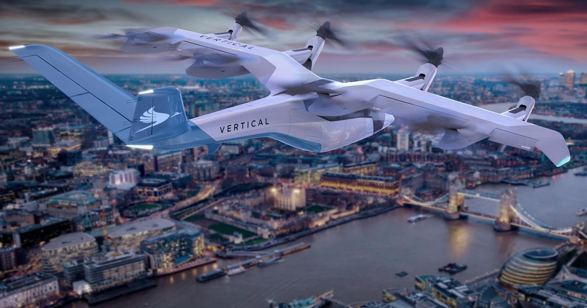 Vertical Aerospace's Tim Williams on the new VA-1X air taxi