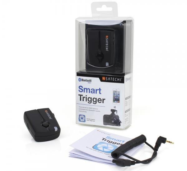 The Satechi Bluetooth Smart Trigger comes in four options to work with a variety of Nikon and Canon DSLRs